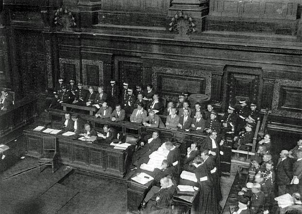 """Cour d'assises de Bruxelles, juillet 1923 : le Parti Communiste de Belgique jugé pour """"complot contre la sureté de l'Etat"""""""