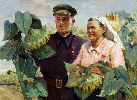 "E. N. Yakovenko : ""Héros du travail socialiste"" - 1951"
