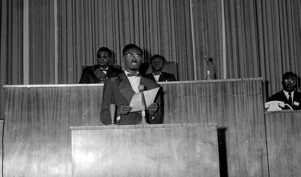 Discours d'indépendance de Patrice Lumumba le 30 juin 1960 à Leopoldville