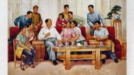Le président Mao reçoit les représentants de la jeunesse - 1965
