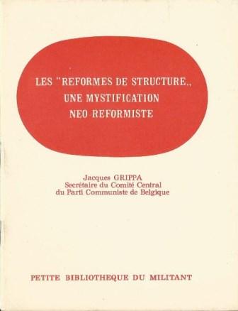 Jacques Grippa-Réformes de structures