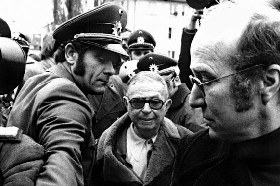 Le 4 décembre 1974, Jean-Paul Sartre rend visite à Andres Baader à la prison de Stuttgart-Stammheim