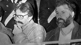 Prospero Gallinari et Renato Curcio
