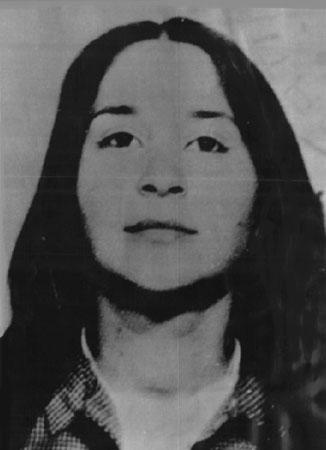 Wilma Monaco, dirigeante de l'UCC tombée dans la lutte pour le communisme, le 23 février 1986