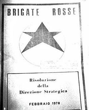 Brigades Rouges-Résolution de la direction stratégique-février 1978
