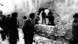 Prison de Rovigo après l'évasion de Susanna Ronconi et trois autres militantes