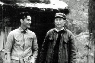 Edgar Snow et Mao Zedong - 1936