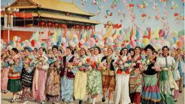Vive la grande unité de tous les peuples de Chine - 1957