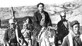 Mao Zedong durant la Longue marche