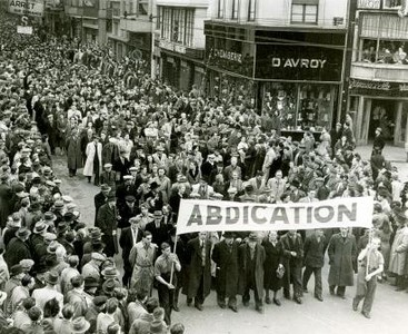 1950-manifestation-à-Liège