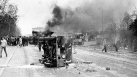 Limbourg-1970-jeep-de-la-gendarmerie-détruite