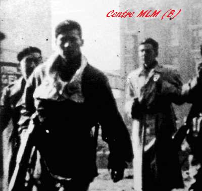 Centre MLM-Partisans au combat dans les rues d'Anvers