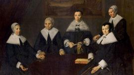Vermeer-Régentes de l'hospice de vieillards