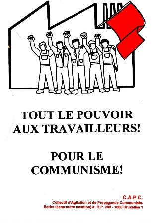 Affiche Collectif d'Agitation et de Propagande Communiste