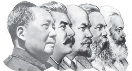 Marx-Engels-Lénine-Staline-Mao