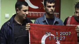 Nationaliste et policiers turcs