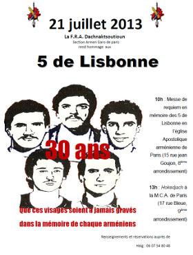 5 de Lisbonne
