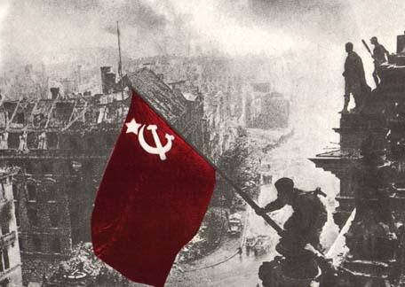 Drapeau URSS Berlin