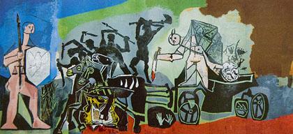 Picasso-la guerre et la paix