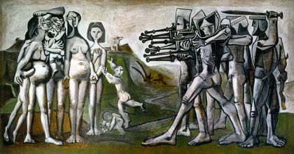 Picasso-massacres en Corée