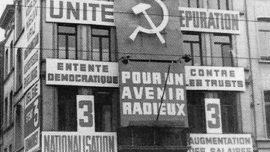 Siège du Parti Communiste de Belgique en 1946