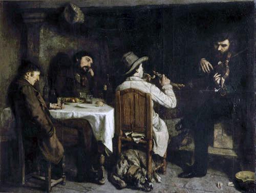 L'Après-dînée à Ornans (1849)
