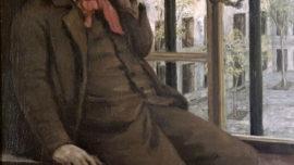 Autoportrait à Saint-Pélagie (1871)