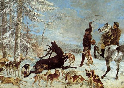 L'Hallali du cerf (1867)