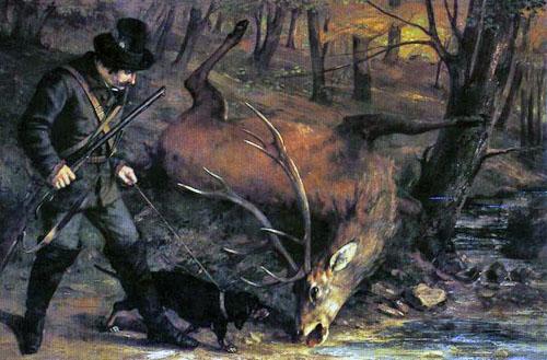 Le chasseur allemand (1859)