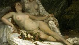 Baigneuses, ou Deux femmes nues (1858)