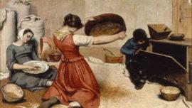 Les Cribleuses de blé (1854)
