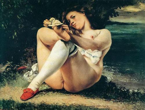 Femme aux bas blancs (1864)