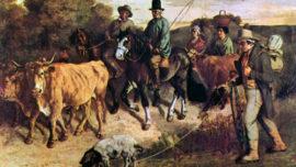 Les paysans de Flagey revenant de la foire (1850)
