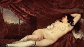 Femme nue couchée (1862)