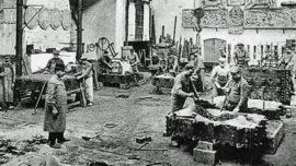 Atelier de moulage des bronzes de la Compagnie des bronzes - Molenbeek