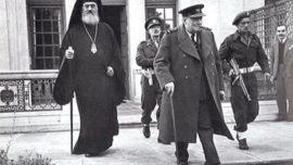 Mr. Damaskinos et W. Churchill