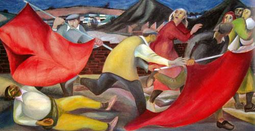 Forces murales (Louis Deltour, Edmond Dubrunfaut, Roger Somville)
