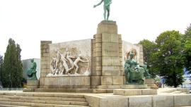 Constantin Meunier : Monument au Travail - Port de Bruxelles, quai des Yachts