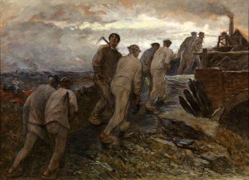 Constantin Meunier - Sur le chemin de la mine