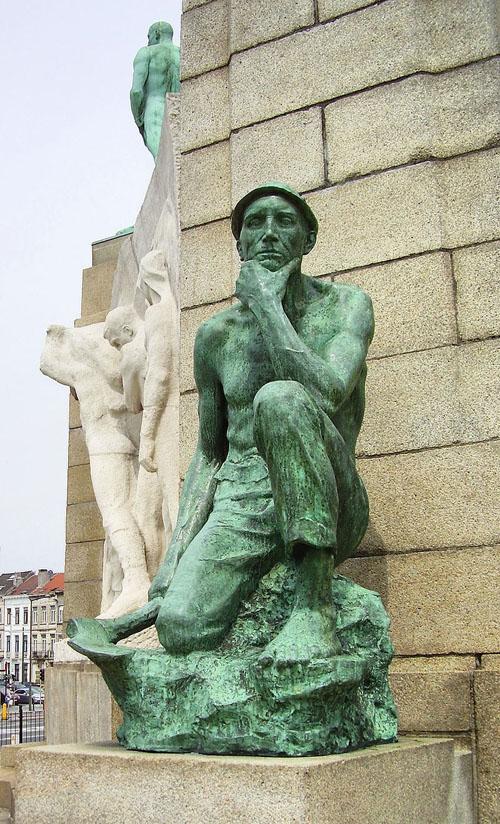 Monument au Travail - Le mineur