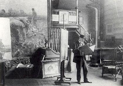 Emile Claus - Atelier