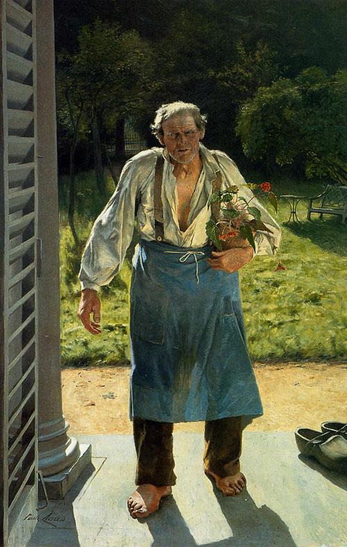 Émile Claus - Le vieux Jardinier