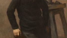 Portait de C Meunier par Isidore Verheyden