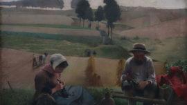 Léon Frédéric - Boerenmaaltijd (Le repas des paysans)