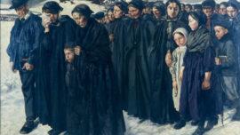 Léon Frédéric - L'enterrement d'un paysan