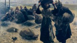 Léon Frédéric - La femme à loques (les ramasseuses d'escarbilles)
