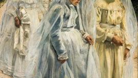 Léon Frédéric - Le retour de la procession