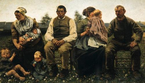 Léon Frédéric - Les Âges du paysan : Les époux