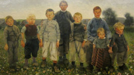 Léon Frédéric - Les Âges du paysan : Les garçons