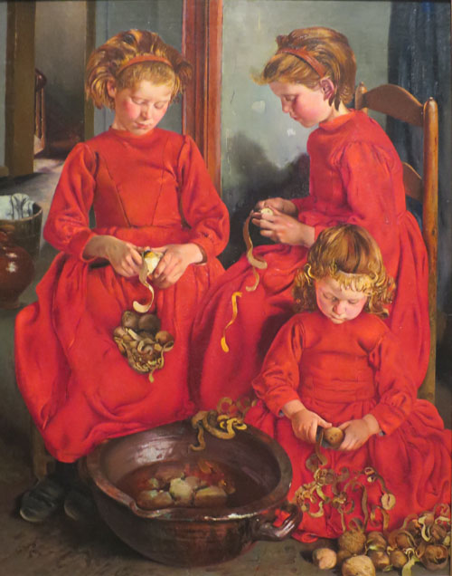 Léon Frédéric - Les trois sœurs